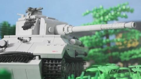 1944 Lego World War Two Tank Battle Panther vs