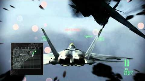 Ace Combat Assault Horizon (Mission 15) Hurricane (HD) Difficulty Elite-2