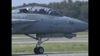 """Gunfighter 161"" Demo (Shock wave vs F-18 Race→F-14D Demo→ Legacy flight)Oceana 2004"