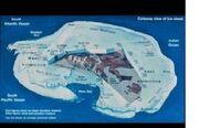 Hidden under Antarctica