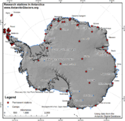 Antarctica research stations1