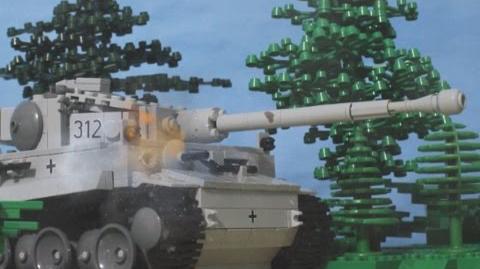 Lego Tank Battle