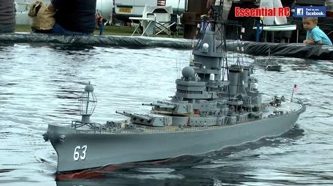 BIG RC Frigates, Destroyers and Submarines