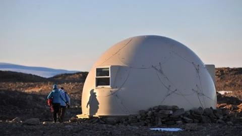 Luxury campsite in Antarctica offers tiny domed pods for sleeping and dining