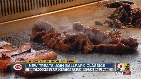 New food revealed at Great American Ball Park