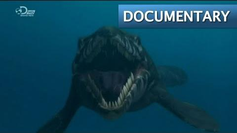 Mega Beasts T Rex of the Deep - Mosasaur Documentary