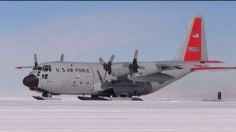 ANTARCTICA Hercules C-130. US-Air Force