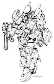 Robotech isb 02 mk i golem battloid by chuckwalton-d97tjou