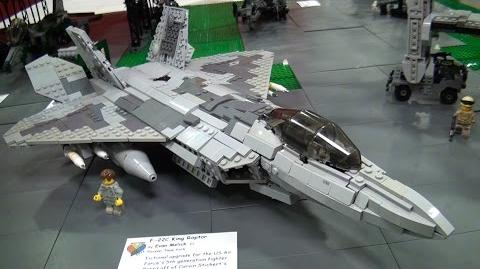 Awesome LEGO military airplanes, helicopters – BrickFair Virginia 2015