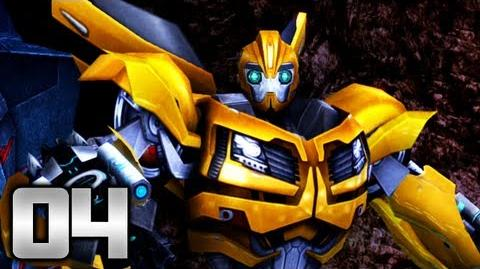 Transformers Prime The Game - Part 4 - Captured!