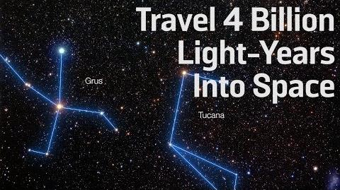 Travel 4 Billion Light-Years Into Space