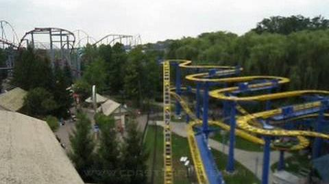 Fly Front Seat on-ride POV Canada's Wonderland