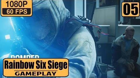 Rainbow Six Siege gameplay walkthrough Part 5 - Cold Zero