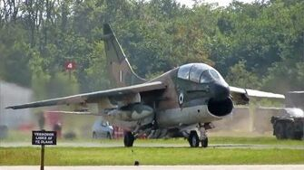 Beautiful Departure Volkel Airshow 2013; 2x Corsair II Hellenic Air Force
