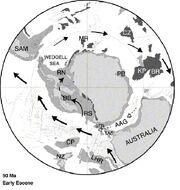 Evolution of Cenozoic
