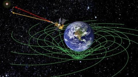 NASA Gravity Probe finds space-time vortex and proves Einstein was right!