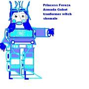 Princess Armada Gobot transfrmr