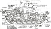 Drawing cutaway M26-pershing