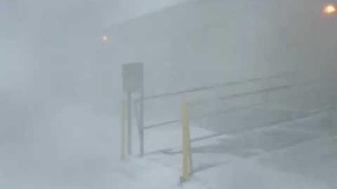 Con 2 Storm at McMurdo Station, Antarctica