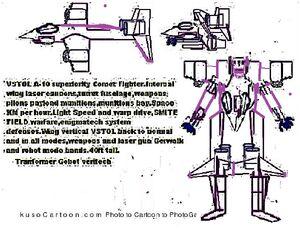 Comet fighter VSTOL