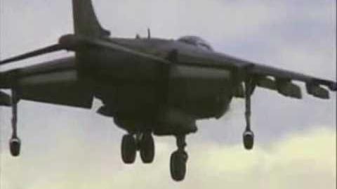 Harrier Jump Jet & AV-8B Harrier II In Action