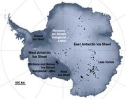 2009 antarctica lakesmap