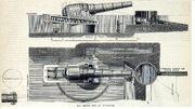 RML 17.72 inch 100-ton gun emplacement diagrams