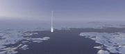 Hrimfaxi burst missile launch