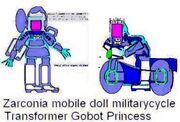 Princess Armada battlesuit