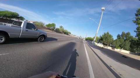 My ride to school on my e-bike