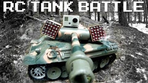 RC TANK BATTLE - RCExplorer