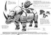 Big five rhino breakdown by crazyasian1-d6j1mue