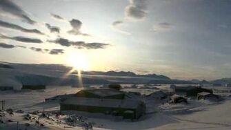 The Sun Returns in Antarctica