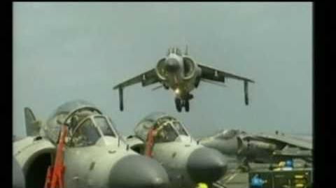 Farewell to Britain's Ark Royal and the Harrier Jump Jet