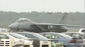 NAS Oceana Airshow 1998 - F-14 Tomcat Demo & Shockwave
