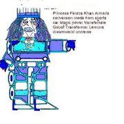 1Princess Armada Gobot transfrmr
