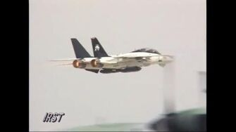 【daytime】VX-9 F-14B (UPGRADE) DEMO NAS Point MUGU Airshow 1999