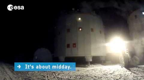 Winter in Antarctica at the Concordia Station ESA Science HD Video
