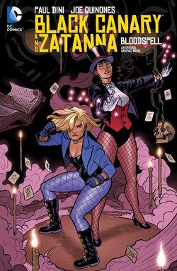Black Canary and Zatanna Bloodspell