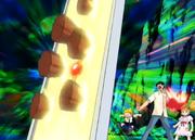 Zatch y Kiyomaro ayudan a Djem