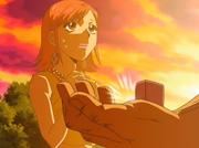 Nana le da el anillo a Hiromi