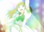 Megumi en el concierto