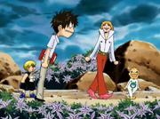 Kiyomaro rechaza la ayuda de Kanchome y Folgore