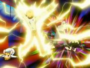 Zatch ataca a a Folgore