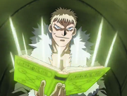 Steng leyendo conjuros