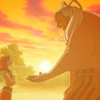 Nana le da su anillo a Hiromi