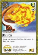 Emururon card