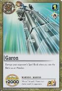 Garon maruss card