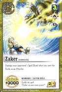 S-029 - Zaker -Zatch Bell-