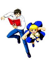 Zatch Bell and Kiyo Takamine-0